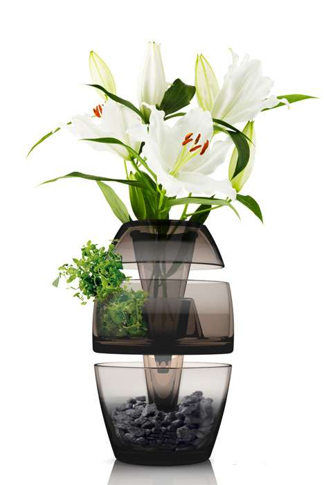 Multifunctional Flower Holders