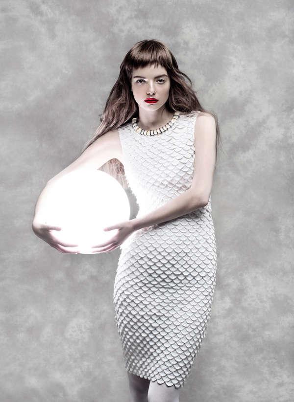 Elegant Luminous Fashion