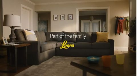 Family-Focused Furniture Ads