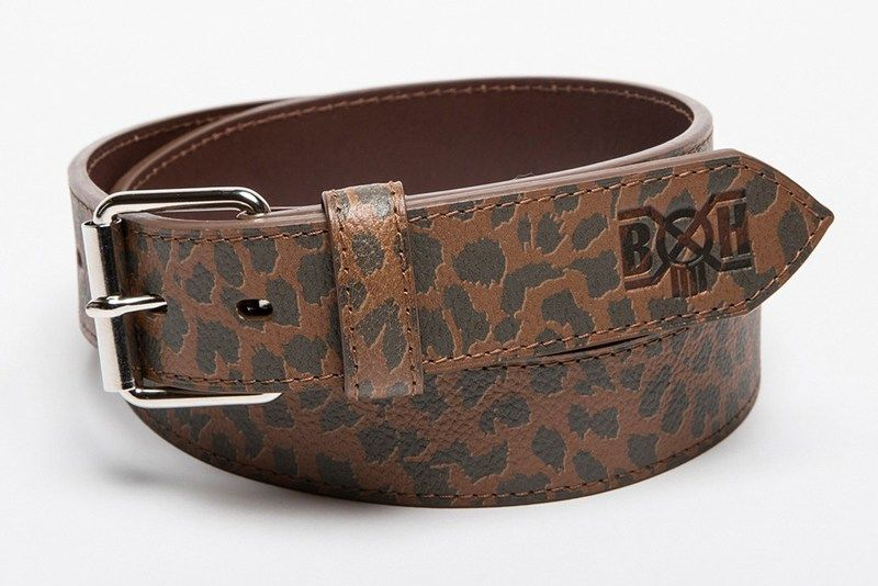 Leather Leopard Accessories