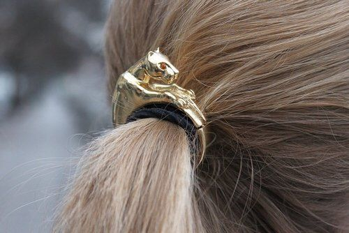 leopard hair accessories