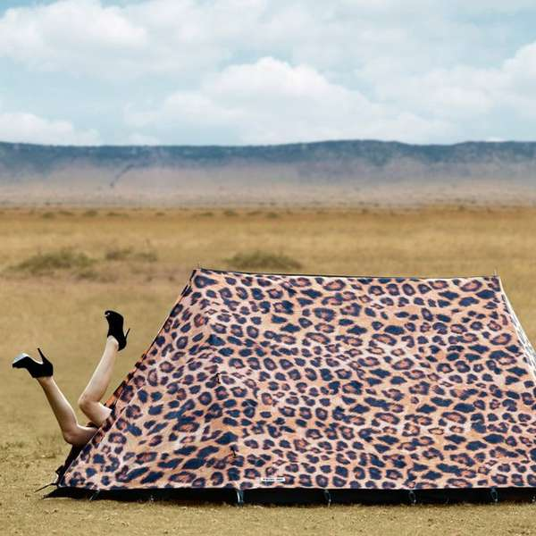 Fierce Feline Camping Shelters
