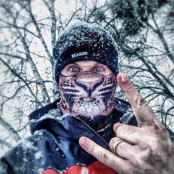 Fearsome Animal Ski Masks