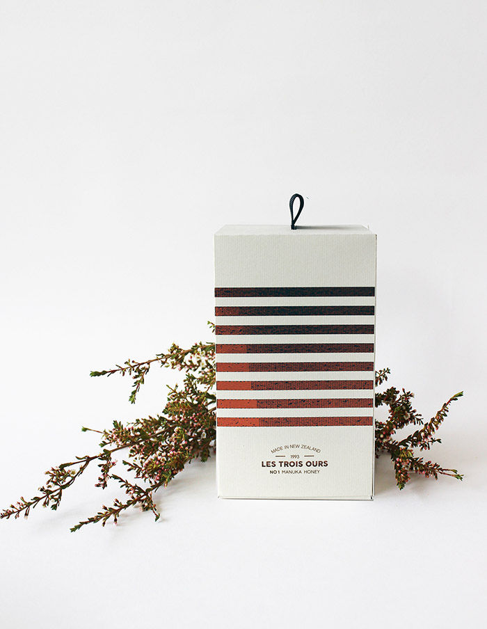 Striped Honey Branding