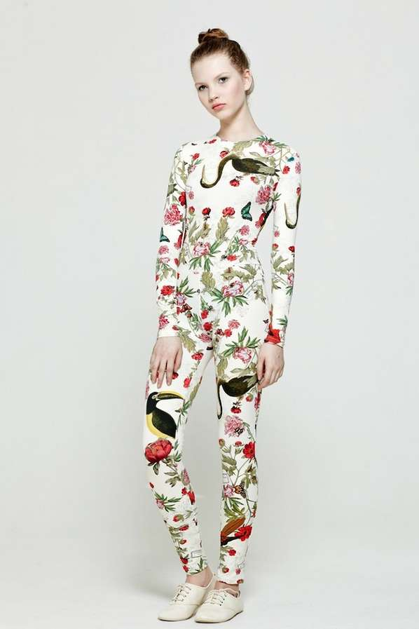 Fashionable Floral Onesies