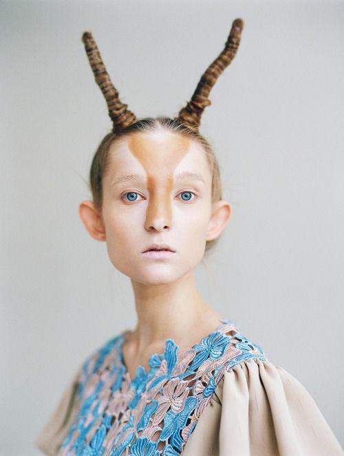 Whimsical Antelope-Like Lookbooks