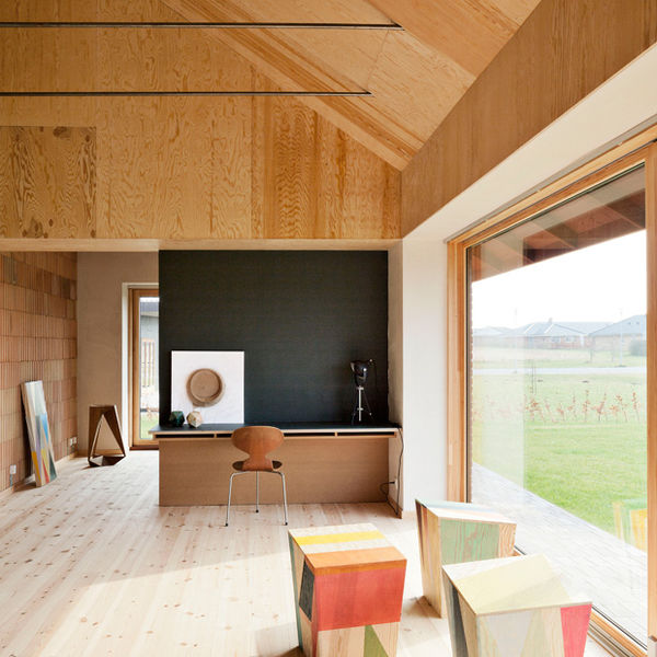 Understated Plywood Residences