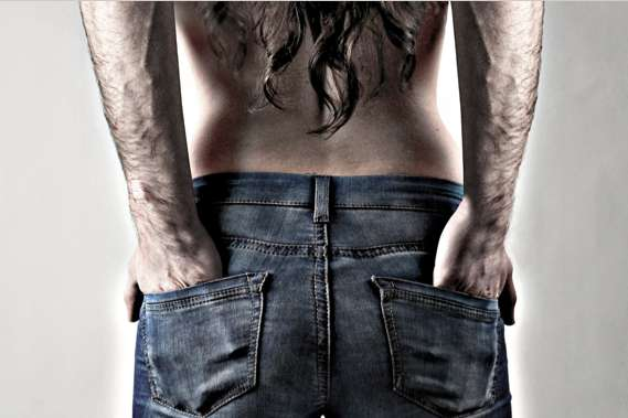 Gender-Blended Jeanvertising