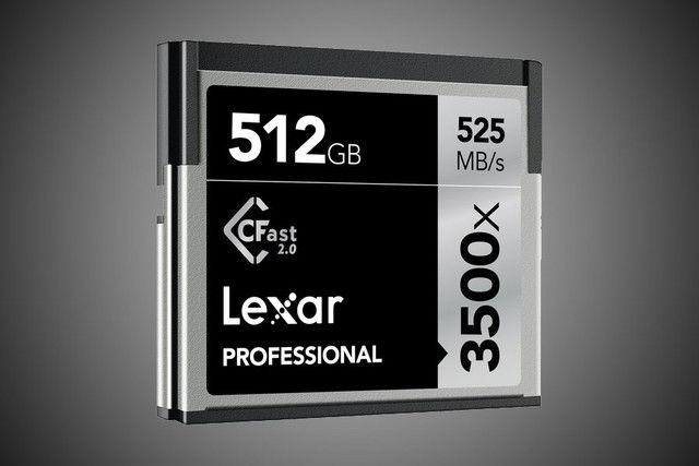 Massive Professional Memory Cards