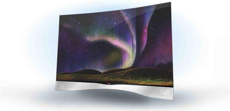 Contoured TVs