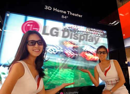 LG Display 84-Inch TV