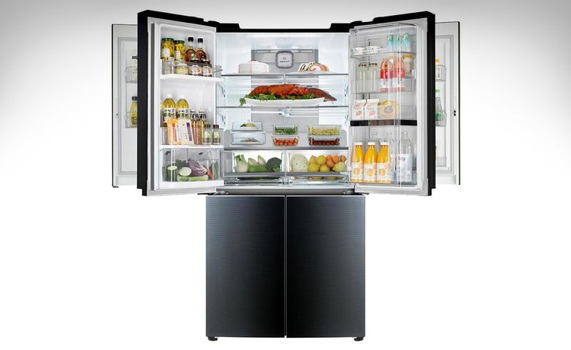 Multi Door Refrigerators Lg Door In Door Mega Capacity