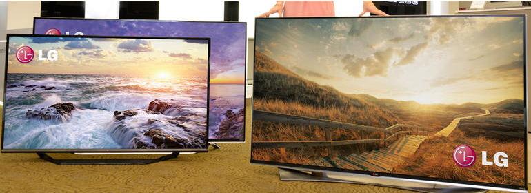Streamlined LCD TVs