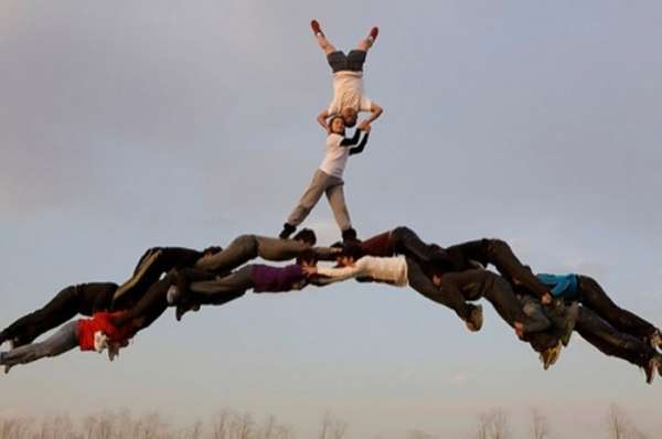 Human Bridge Captures