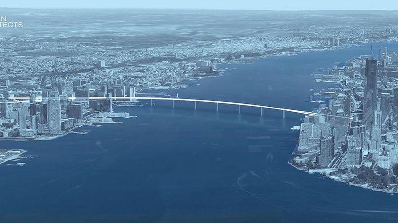 City-Linking Pedestrian Bridges
