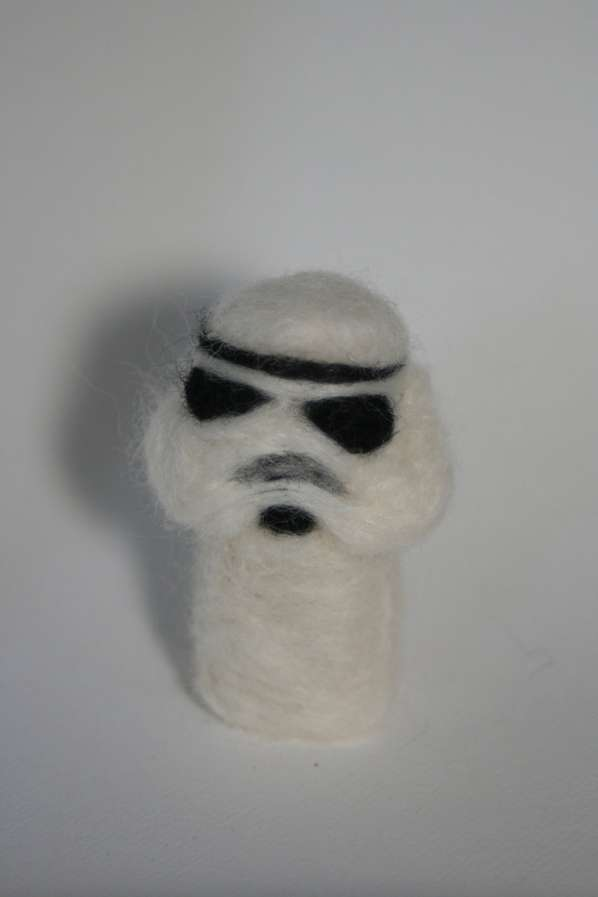 Sci-Fi Felted Dolls