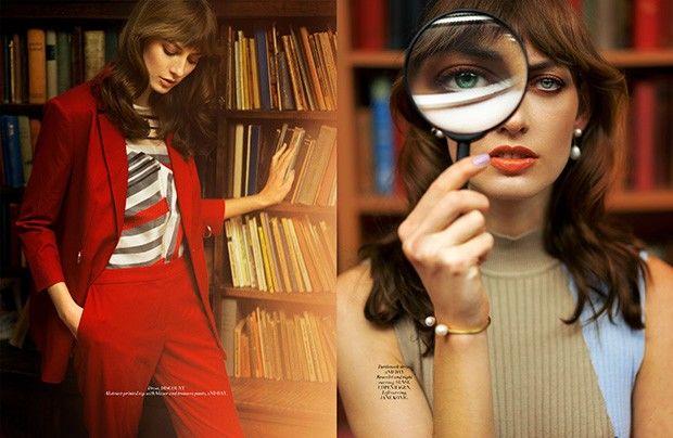 Chic Librarian Fashion