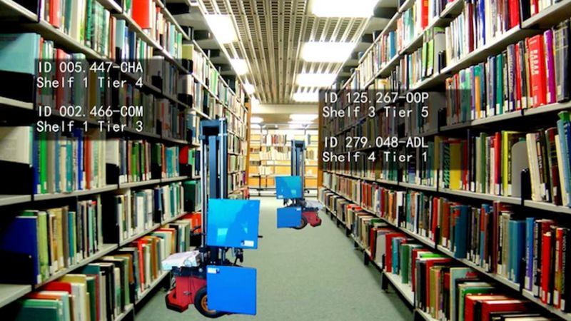 Book-Organizing Robots
