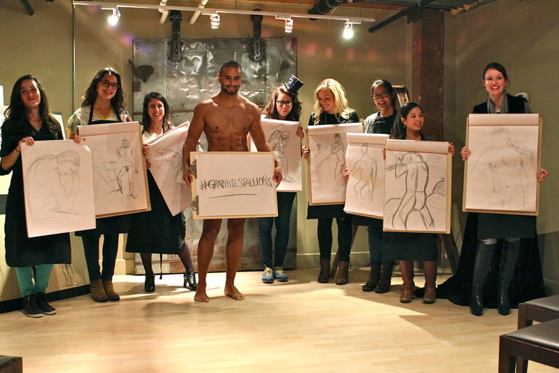 Life Drawing Parties