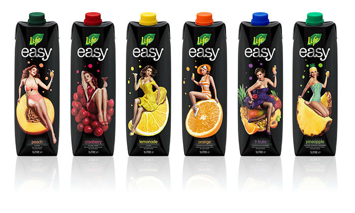 Pin-Up Juice Labels