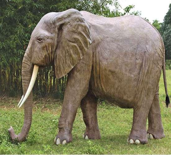 8 500 Yard Decorations Life Sized Elephant Statue