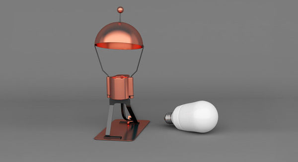 Gentlemanly Lamp Fixtures