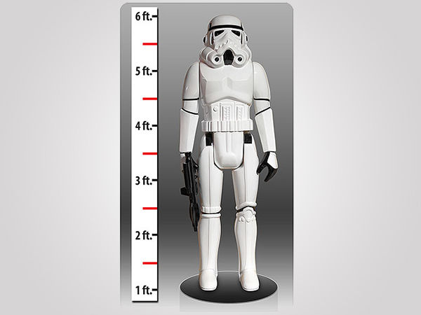 Geeky Life-Sized Action Figures