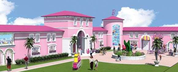 Life-Sized Barbie Houses