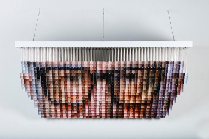 Life-Sized Pixel Portraits