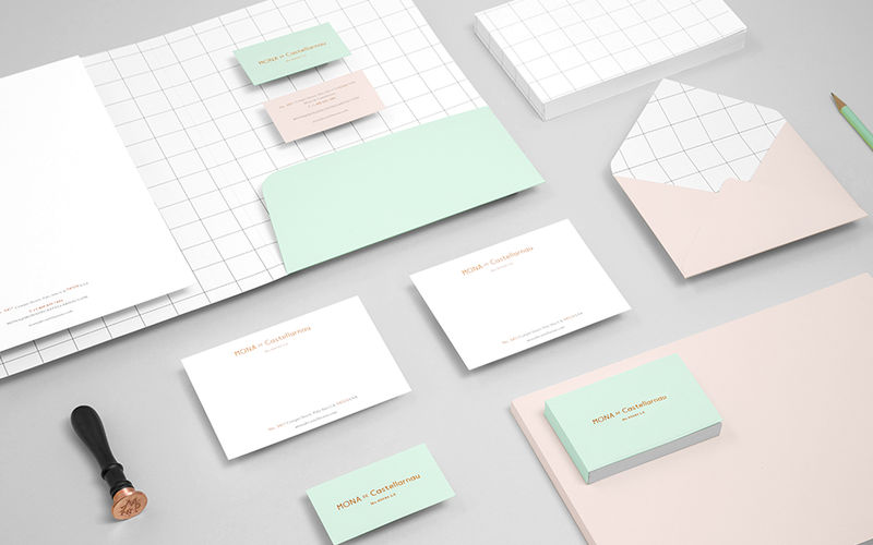 Contemporary Corporate Stationery