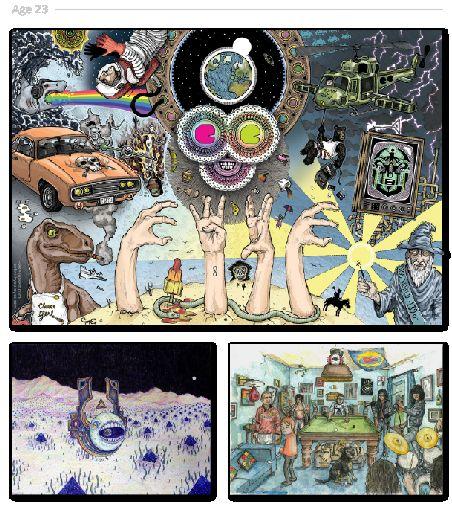 Cumulative Lifetime Illustrations