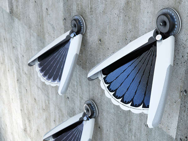Solar Fan-Like Lighting