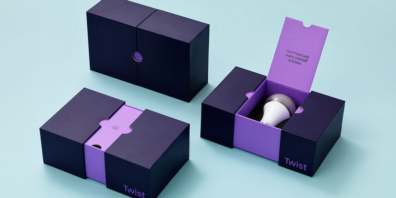 Elegant Light Bulb Boxes