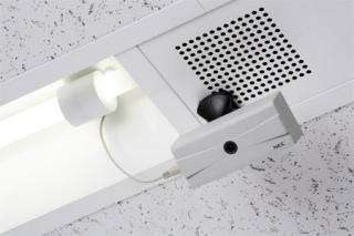 Light Bulb Powered Wireless Video Camera