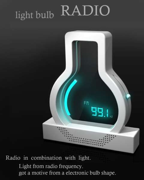 Light Bulb Radio