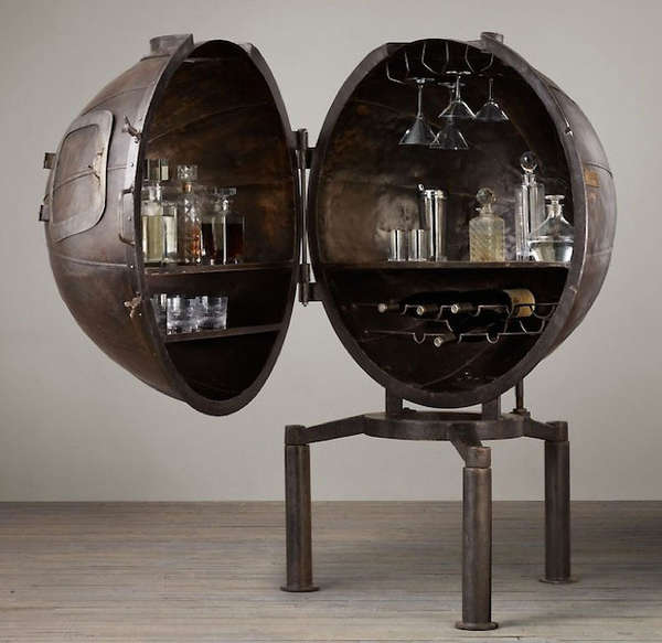 Upcycled Steampunk Mini Bars