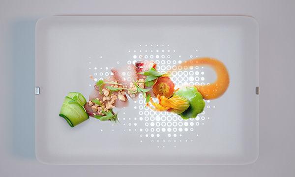 Illuminated Dinner Plates