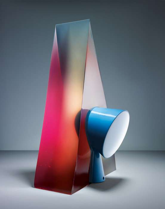 Colorful Gelatin Lamps