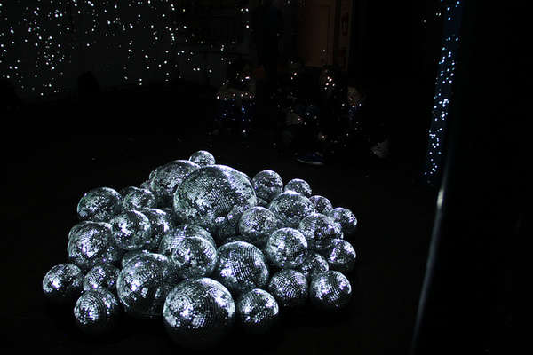 Brilliant Disco Ball Installations