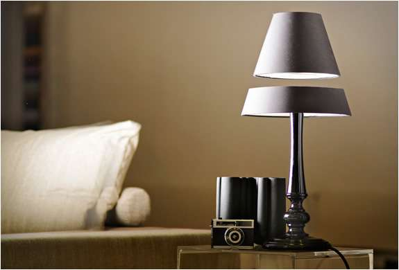 Levitating Lamp Fixtures