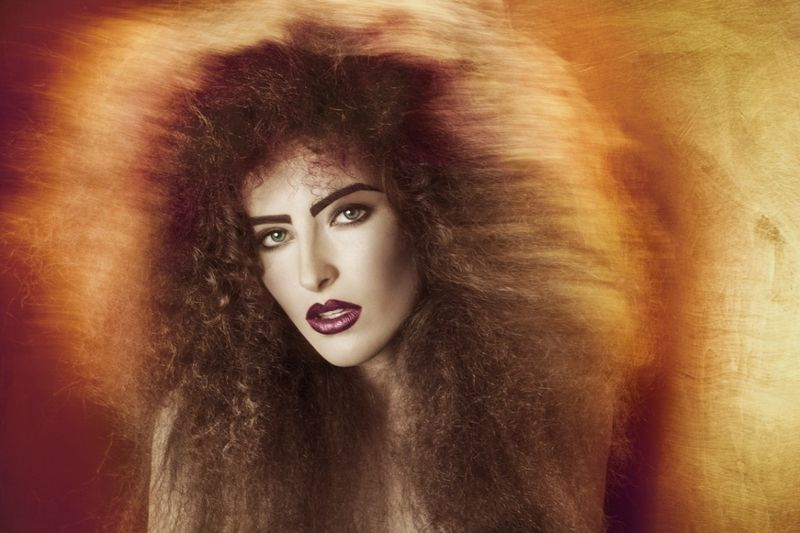 Haute Hair-Teased Editorials
