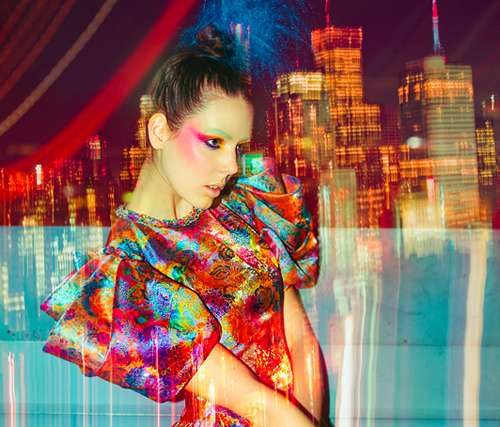 Trippy Fashion Shoots