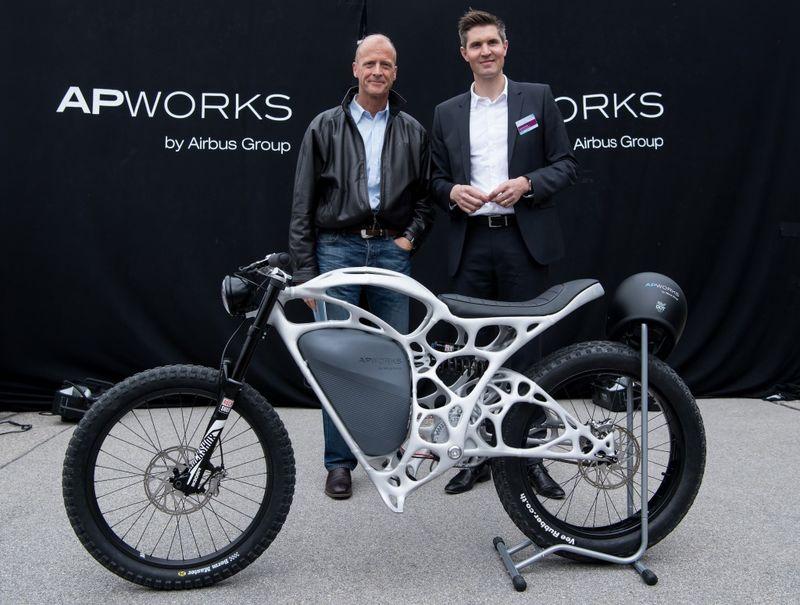 3D-Printed E-Motorbikes