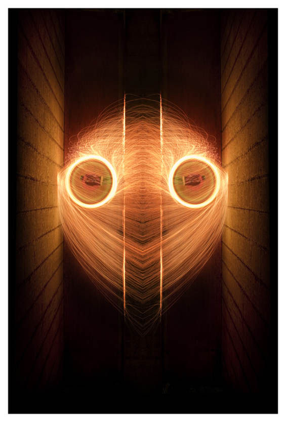 Symmetrical Light Paintings