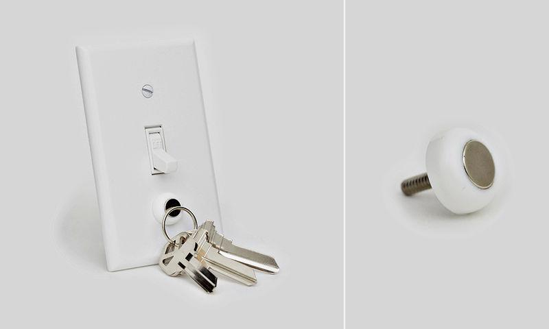 Magnetic Key Holder Lights