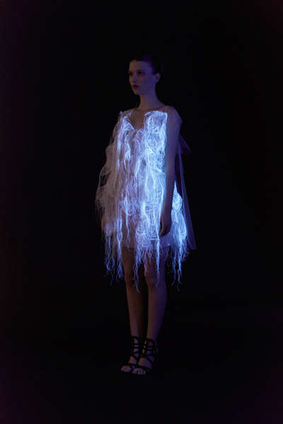 Eyesight-Activated Dresses