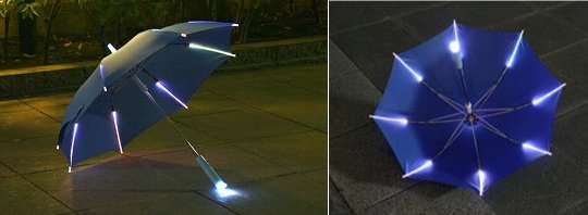 Illuminating Rain Accessories
