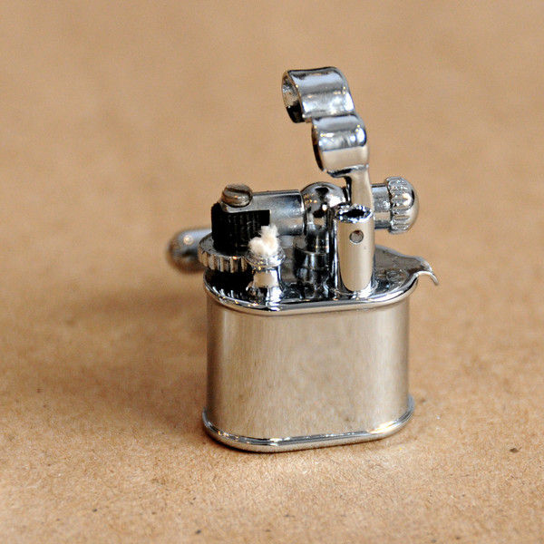 lighter, cufflinks