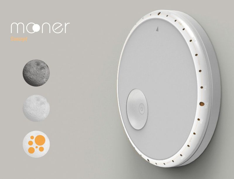 Lunar-Inspired Lighting Switches