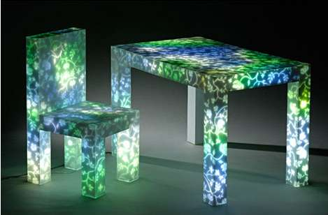 Light-Up Furniture